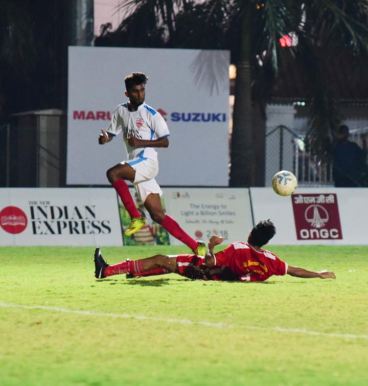 TNIE Goal 2018   Sports   Event Xpress