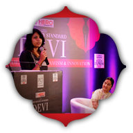 Fashion designers Anju Modi and Ritu Kumar
